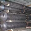 Ocelové odvodňovací potrubí s můstkovou perforací