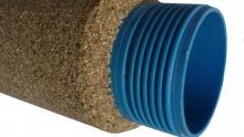 PVC filtry s pískovým oblepem