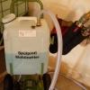 Plnící zařízení s lamelovým čerpadlem