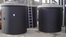 Studniční šachty - nerez a beton