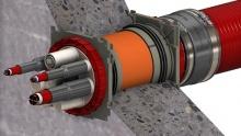 Kabelová průchodka - Bajonet BKD 150 a BKD 90