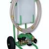 Plnící zařízení pro teplonosné kapaliny s lamelovým čerpadlem